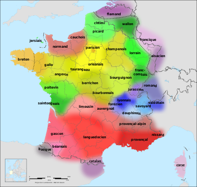 Languages of France - Wikipedia, the free encyclopedia
