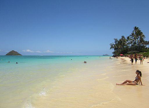 Lanikai Strand auf Oahu