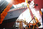 Launch of INS Imphal 02.jpg