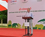 Launching of Elephant Protection Area in Quang Nam Province (36683172680).jpg