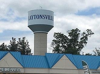 Laytonsville, Maryland - Laytonsville Water Tower