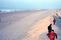 Le Touquet-Paris-Plage - plage sous la neige (janvier 1997).jpg