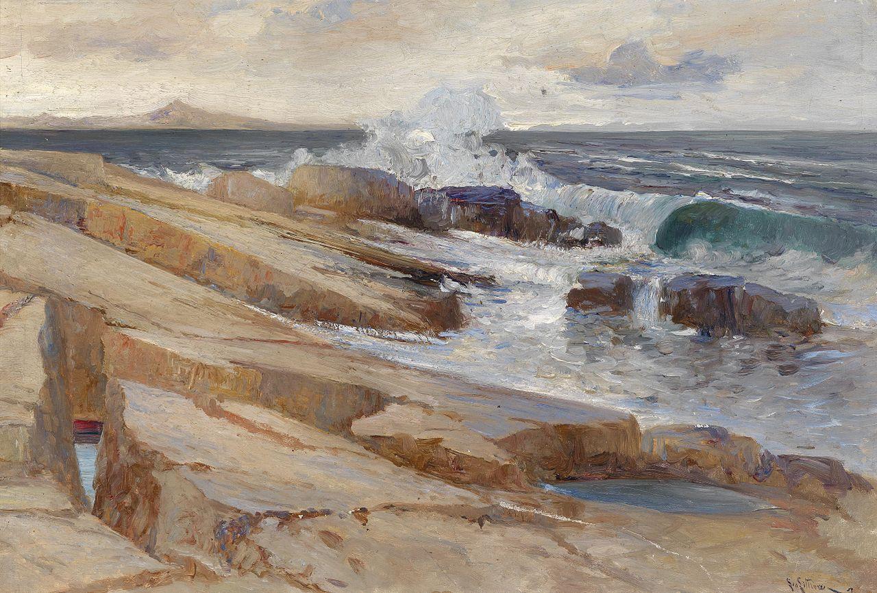 Lea von Littrow Küstenlandschaft bei Ragusa.jpg