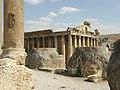 Lebanon, Baalbek, Temple of Bacchus.jpg