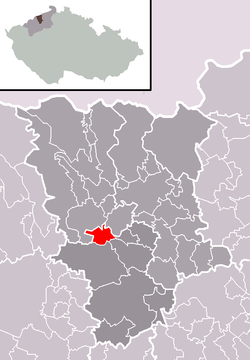 Location of Ledvice
