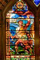 "Left panel of ""Battle"" window, Annenberg Hall, Memorial Hall, Harvard.jpg"