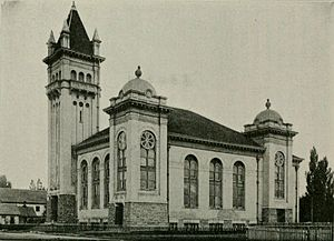 Lehi, Utah - Lehi Tabernacle in 1913.