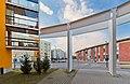 Leinelä architecture at Leinelän puistotie in Koivukylä, Vantaa, Finland, 2021 April.jpg