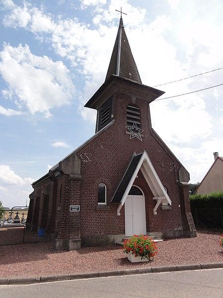 Lempire (Aisne) église
