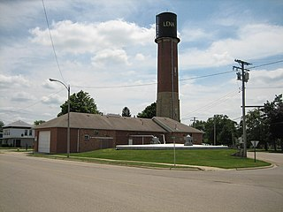 Lena Water Tower United States historic place