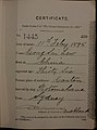Leong Sai Lew Auckland Chinese poll tax certificate butts Certificate issued at Auckland.jpg