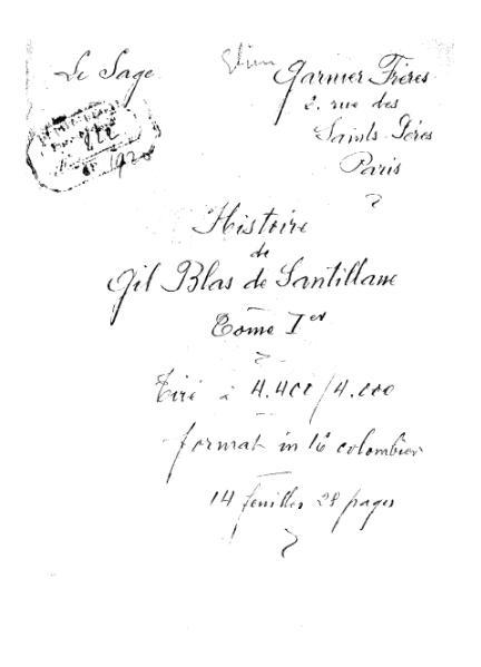 File:Lesage - Histoire de Gil Blas de Santillane, 1920, tome 1.djvu