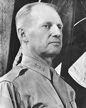 Lesley J. McNair - McNair as Army Ground Forces commander, circa 1942