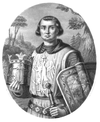 Портрет Александра Лессера, XIX век