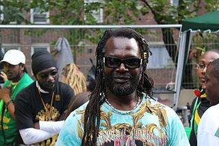 Levi Roots British-Jamaican musician and chef