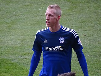 Lex Immers - Immers playing for Cardiff City in 2016.