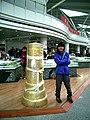 Lhasa airport monument.jpg