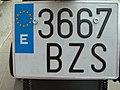 License plates of Spain 0904.jpg