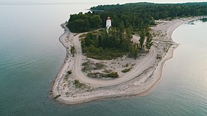 Christian Island - Lighthouse Point, featuring the oldest lighthouse (b. 1859) in Georgian Bay(Photo Credit: Alex Sandy)
