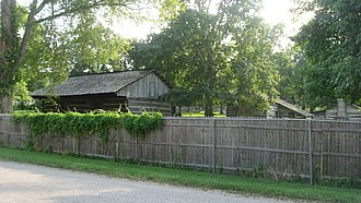 Lincoln Pioneer Village - From 9th Street, in July 2011