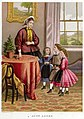 Lithography by Kronheim and Co for A Visit to Aunt by Agnes Agnes Giberne-Aunt Agnes.jpg
