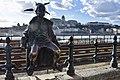 Little Princess Statue, Danube Promenade, Budapest, Hungary (Ank Kumar) 01.jpg