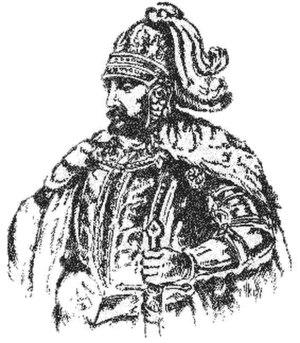 Liubartas - Modern illustration