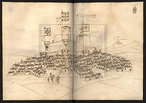 Castle Fortress of Almeida - Image: Livro das Fortalezas 73 Almeida