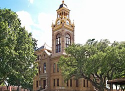 The Llano County Courthouse