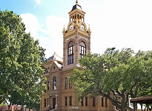 Llano, Texas - The Llano County Courthouse