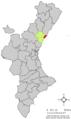 Localització de Borriana respecte del País Valencià.png