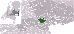 Location of Overbetuwe