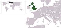 Locatie van Verenigd Konkinkrijk