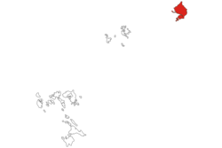 Location within Riau Islands