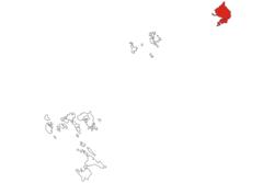 Расположение на островах Риау