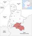 Locator map of Kanton Nyons et Baronnies 2019.png
