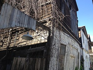 Locke, California - Building sagging with age