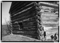 Log Cabin, Schoharie, Schoharie County, NY HABS NY,48-SCHO.V,1-2.tif