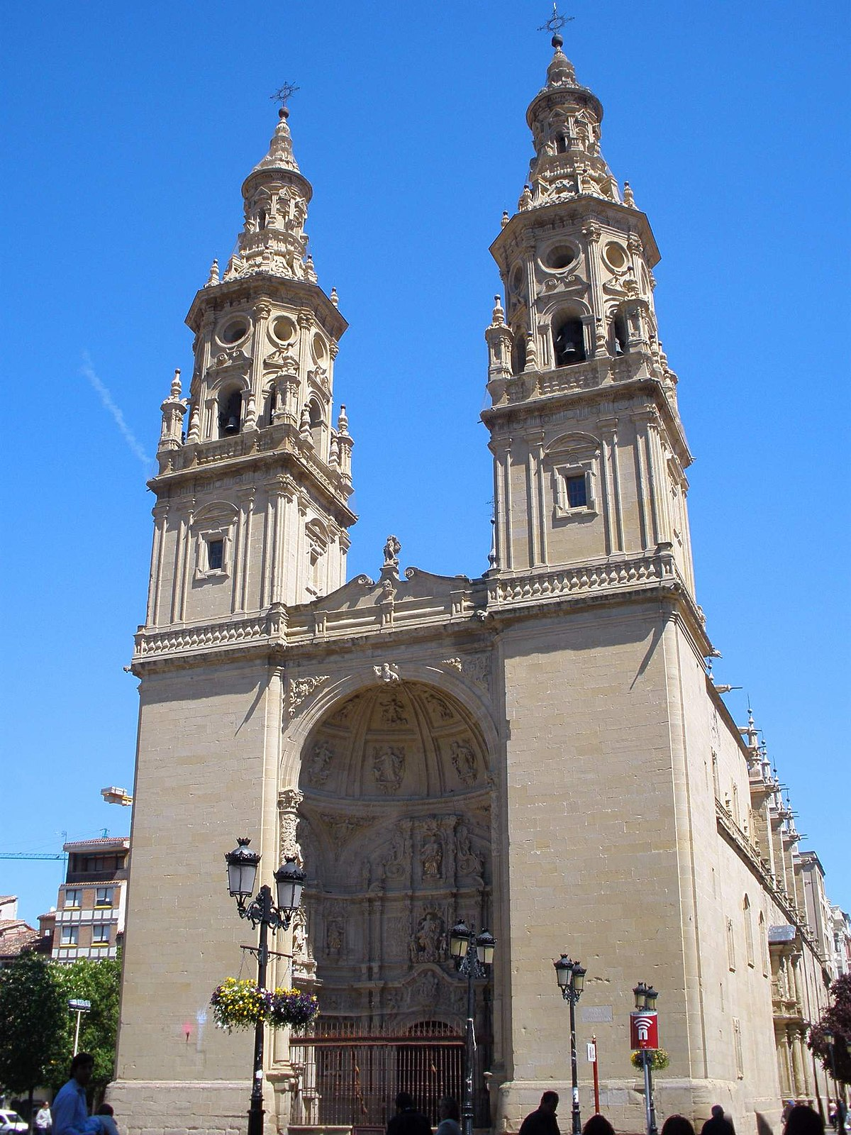 Concatedral de Logroño - Wikipedia, la enciclopedia libre