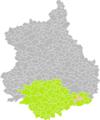 Loigny-la-Bataille (Eure-et-Loir) dans son Arrondissement.png