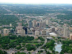 London, Ontario, Canada- The Forest City from above.jpg