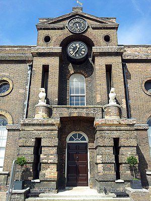 Royal Artillery Museum - The old Royal Military Academy building housed the collection from 1802-1820