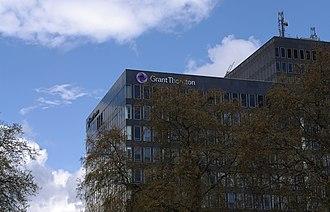 Grant Thornton International - Grant Thornton's UK headquarters in Euston, London.
