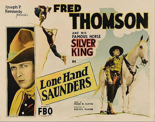 Lone Hand Saunders poster