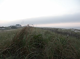 Quogue, New York - Sunrise over the beaches of Quogue