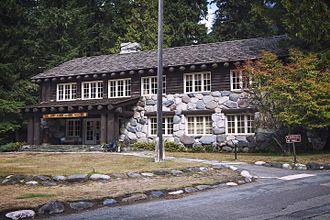 Longmire, Washington - Mount Rainier Administrative Building, Longmire
