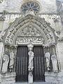 Longpont-sur-Orge (91) Basilique Portail occidental 01.JPG