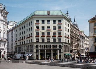 1910 in architecture - Image: Looshaus Michaelerplatz