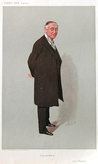 "Philip Stanhope, 1st Baron Weardale - ""A Cynical Radical"" As depicted by ""Spy"" (Leslie Ward) in Vanity Fair, 25 July 1906"