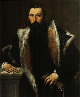 Portrait of Febo da Brescia 1543-1544 painting by Lorenzo Lotto